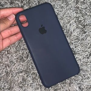Midnight Blue IPhone XS Max Silicone Case